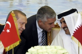 The Turkish treaties aim to improve Qatar's army and boost cooperation [Yasin Bulbul/AP]