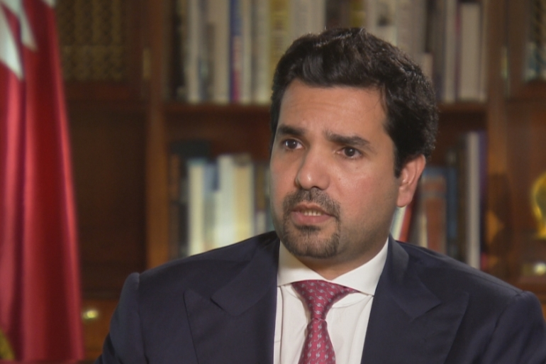 "Sheikh Meshal bin Hamad Al-Thani said allegations that Doha supports ""terrorism"" is a smokescreen for an attempt to infringe upon Qatar's sovereignty [Al Jazeera]"
