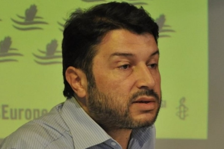 Amnesty says Kilic's home and office were searched by the police [Amnesty International]