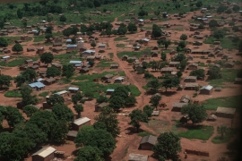 When Popular Front for the Renaissance of Central African Republic (FPRC) forces marched into the town of Bria in mid-May, around 85 percent of its occupants left for IDP camps. Many say they will not return while the FPRC remains in their town. [Sorin Furcoi/Al Jazeera]