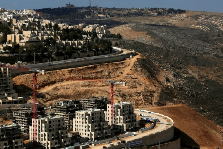 More than 600,000 Israeli settlers now live in the occupied East Jerusalem and the West Bank [Reuters]