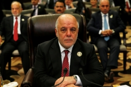 Iraqi PM Haider al-Abadi said in April he respected the Kurdish right to vote on independence, but didn't think the timing was right [Reuters]