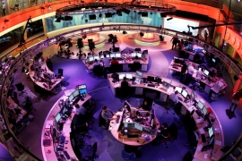 Jordan on Tuesday closed the Amman office of the Doha-based television news channel [FILE: Reuters]