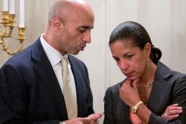 Emails taken from inbox of Yousef al-Otaiba earlier this week revealed Emirati ambassador played role in campaign to tarnish Qatar's image [Carolyn Kaster/AP Photo]