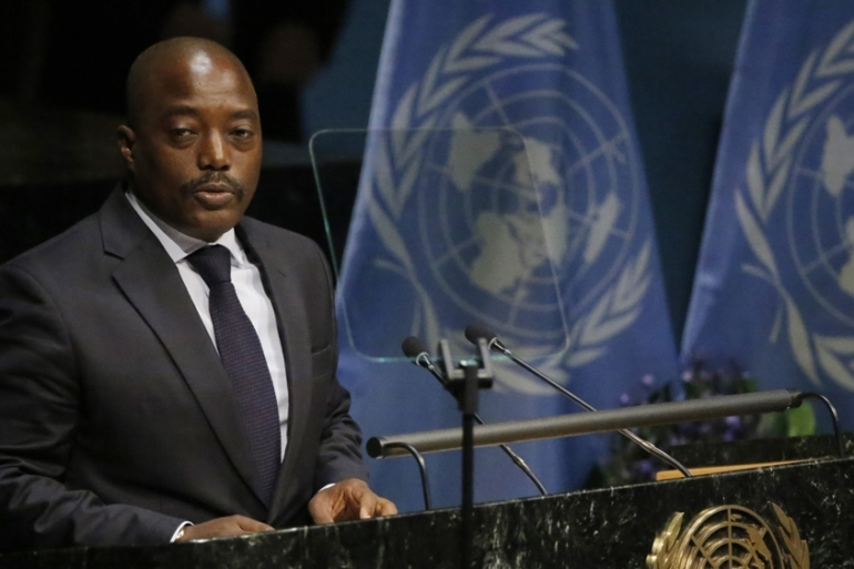 Kabila's government banned opposition demonstrations since last September [Reuters]