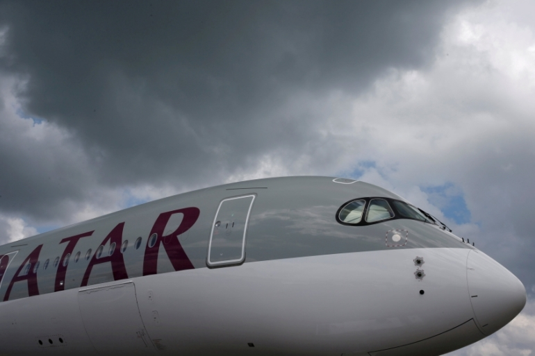 Qatar Airways' chief appealed to the International Civil Aviation Organization to declare the airspace closure as illegal [Edgar Su/Reuters]
