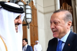 Turkey and Qatar have a long history of being on the same side of regional conflicts and developments [Kayhan Ozer/AP]