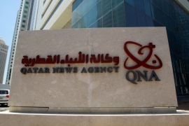 The platforms of Qatar News Agency were hit by a cyberattack in May [Reuters]