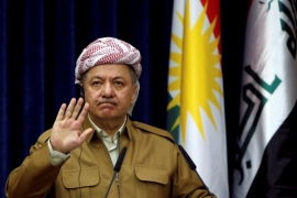 Barzani said that postponing Kurdish independence would lead to greater instability. File Photo [Reuters]