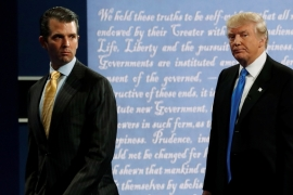 Trump Jr: President knew 'nothing' about Russia meeting