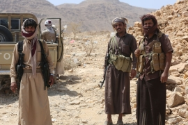 The Saudi-led coalition first launched a military operation against the Houthis in 2015 [Reuters]