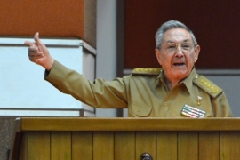 The Cuban president called the new measures a toughening of the US embargo against the island [AFP]