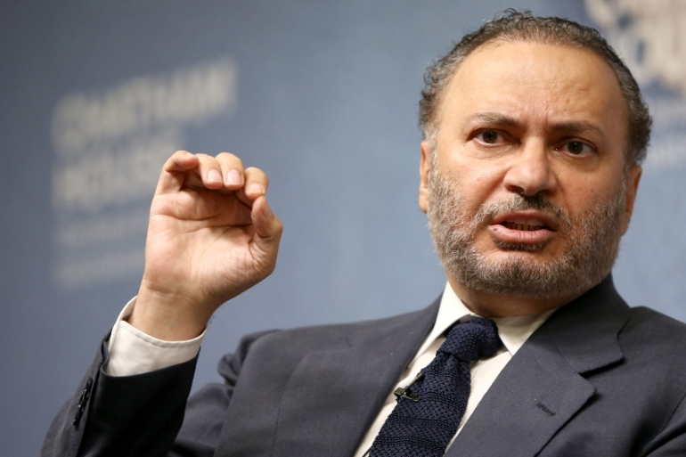 UAE's Minister of State for Foreign Affairs Anwar Gargash says Muslims in the West 'need to be integrated in a better way' [File: Neil Hall/Reuters]
