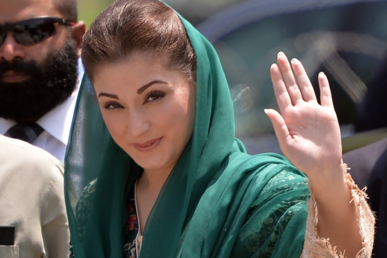 Maryam Nawaz was arrested by the country's National Accountability Bureau [Aamir Qureshi/AFP]