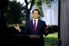 Scaramucci removed as White House communications chief