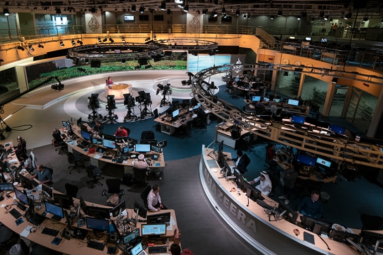 Media watchdogs, human rights groups and prominent commentators have condemned the demand to close Al Jazeera [Sorin Furcoi/Al Jazeera]