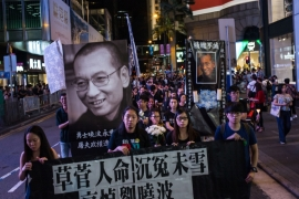 How scared is China's government of political dissent?