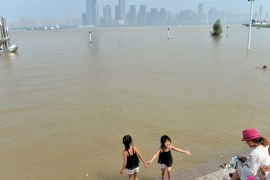 Eleven provinces and regions across southern China have been affected by heavy rains and floods [AFP]