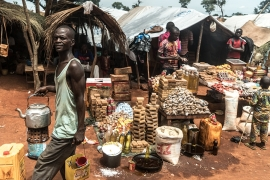 Thousands have been displaced because of fighting between rebel groups in the Central African Republic [Sorin Furcoi/Al Jazeera]