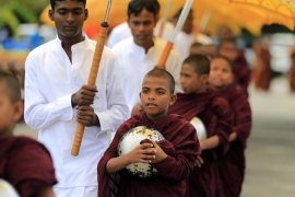 Sri Lanka has chosen only Buddhists for the post of president and prime minister since independence from British colonial rule in 1948 [AP]