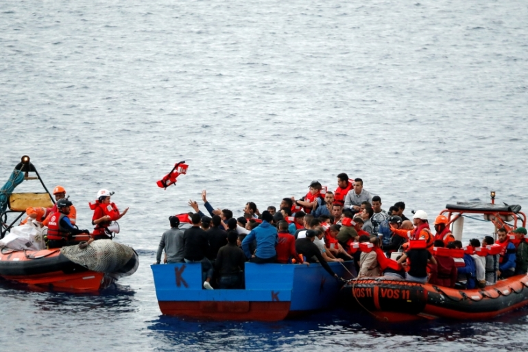 NGO-led rescue operations make up more than one-third of all rescue operations [File: Stefano Rellandini/Reuters]