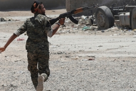 Arab and Kurdish fighters broke into Raqqa on June 6 [Reuters]