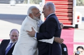 Modi counts Netanyahu among his 'friends' [File: Reuters]