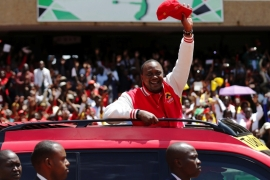 Kenya's presidential candidates say that their agenda is to unlock the potential of the youth in Kenya, but every time they voice these sentiments, their statements ring hollow, writes Namu [Reuters]