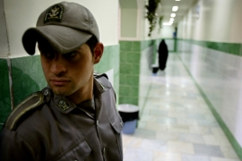 "Tehran's chief prosecutor says as many as 70 ""spies"" are serving in Iranian jails [Reuters File]"