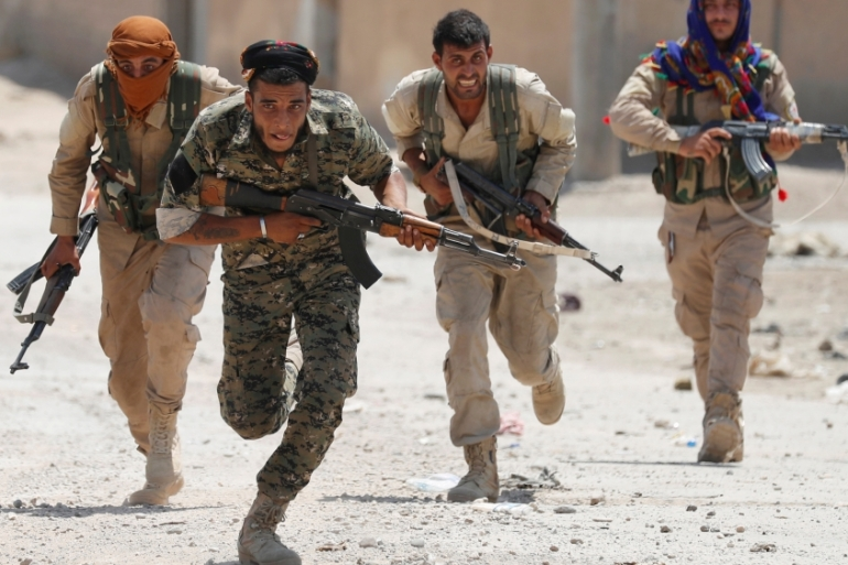 US-backed SDF coalition now controls more than two-thirds of Raqqa province [File: Goran Tomasevic/Reuters]