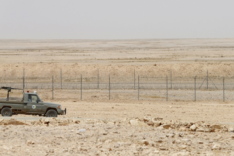 The border was closed after Baghdad and Riyadh cut ties in 1990 [File: Faisal Al Nasser/Reuters]