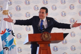 Guatemala's President Jimmy Morales ordered the expulsion of the prosecutor, who has been a thorn in his side [Jose Cabezas/Reuters]