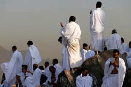 Without Saudi Arabia's cooperation, Qatari hajj companies cannot complete the necessary preparations for the pilgrimage [File: Ahmed Jadallah/Reuters]