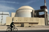 The reactor building of the Bushehr nuclear power plant, just outside the southern city of Bushehr [File/Majid Asgaripour/Mehr News Agency, AP]
