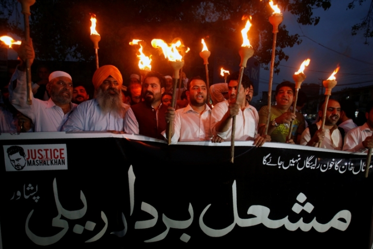 At least 69 people have been killed in Pakistan over alleged blasphemy since 1990 [Fayaz Aziz/Reuters]