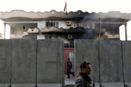 ISIL has claimed responsibility for a suicide bombing and a gun attack on the Iraqi embassy in Afghanistan's capital, Kabul late last month [Mohammed Ismail/Reuters]