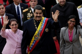 Maduro has faced criticism from Latin American nations for his all-powerful Constituent Assembly [Ueslei Marcelino/Reuters]