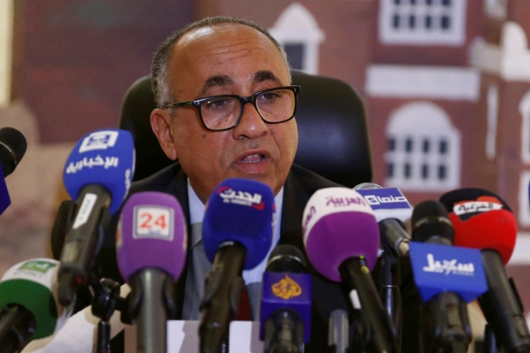 "Al-Quaiti accuses the coalition of denying Yemen ""needed liquidity"" [File: Faisal Al Nasser/Reuters]"