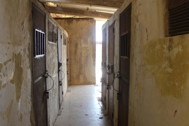 Some 5,000 prisoners passed through Khiam's cells before Israel left southern Lebanon in May 2000 [Lizzie Porter/Al Jazeera]