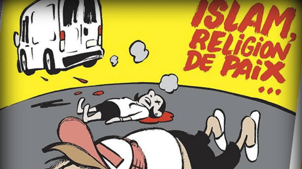 Charlie Hebdo Draws Ire With Barcelona Attack Cartoon France Al Jazeera