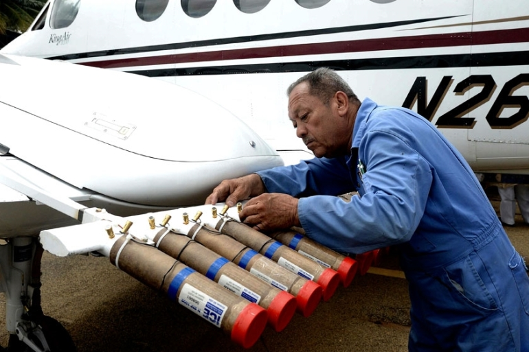 Over the next 60 days, cloud-seeding will take place in Karnataka [Jagadeesh NV/EPA]