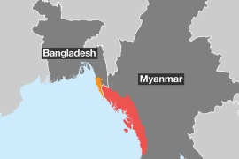 Rohingya crisis explained in maps