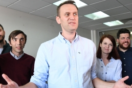 Navalny has been briefly imprisoned before [File: Kirill Kudryavtsev/AFP/Getty Images]