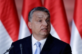 Orban has been at the forefront of a rebellion against the quotas [File: Bernadett Szabo/Reuters]