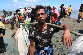 More than 480,000 Rohingya have fled to Bangladesh since the end of August [Showkat Shafi/Al Jazeera]