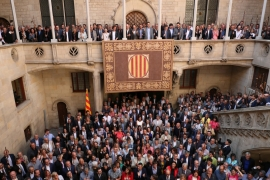 Catalonia is scheduled to hold its independence vote on October 1 [Albert Gea/Reuters]