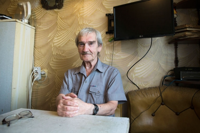 Stanislav Petrov died of pneumonia on May 17, aged 77, and his demise was only reported in mid-September [Pavel Golovkin/AP]