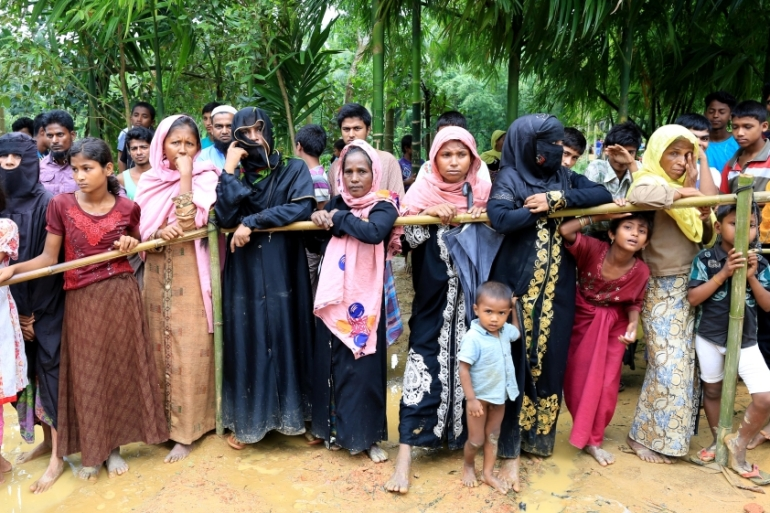 The Myanmar government has engaged in at least four of the five genocidal acts outlined in the Genocide Convention against the Rohingya, writes Starr Kinseth [Showkat Shafi/Al Jazeera]