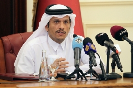 Qatar Foreign Minister Sheikh Mohammed bin Abdulrahman bin Jassim Al Thani added that Doha 'found a will from the other parties to resolve the crisis' [File: Naseem Zeitoon/Reuters]