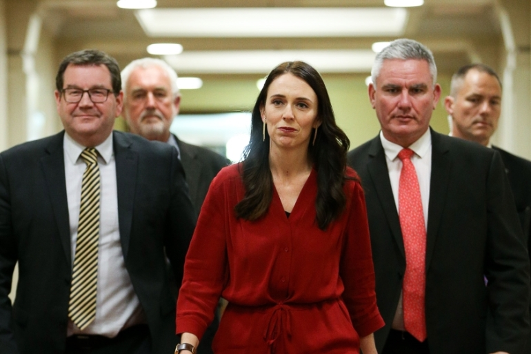 Ardern's Labour Party won 35.8 percent of the vote in September [Hannah Peters/Getty Images]